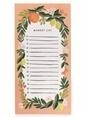 Rifle Paper Co. Citrus Floral Market Listesi-Coral Renkli
